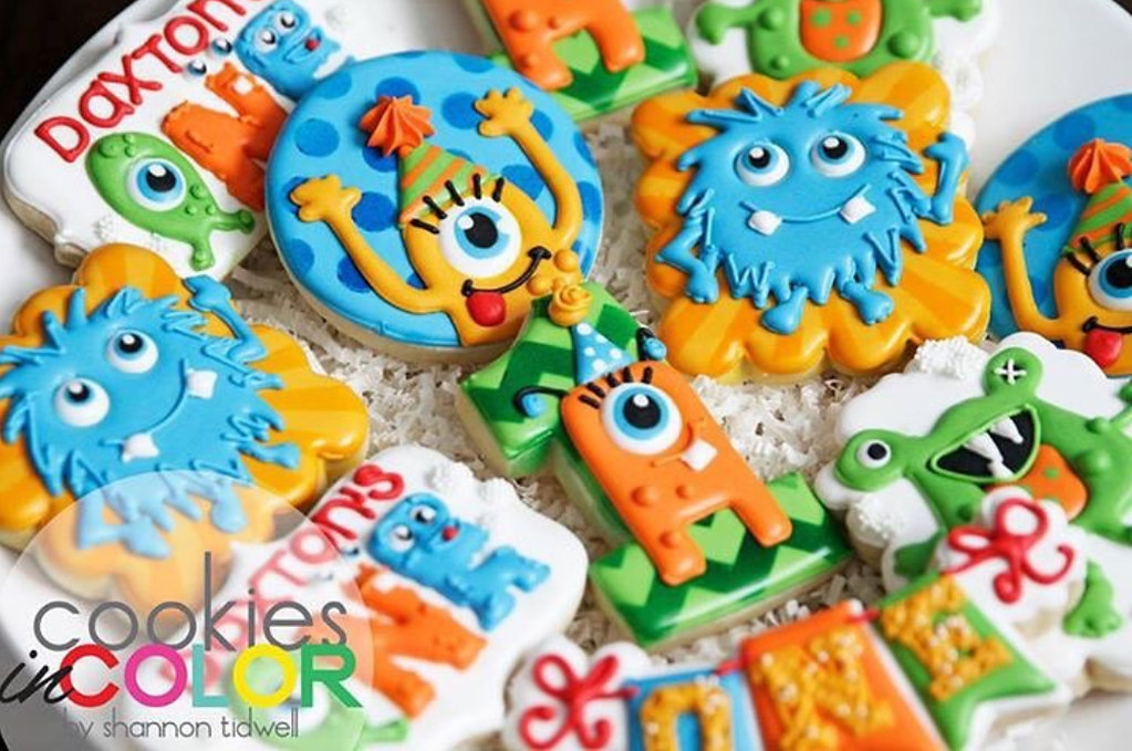 galletas decoradas glasa