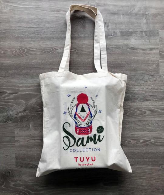 TUYU Shoes tote bag