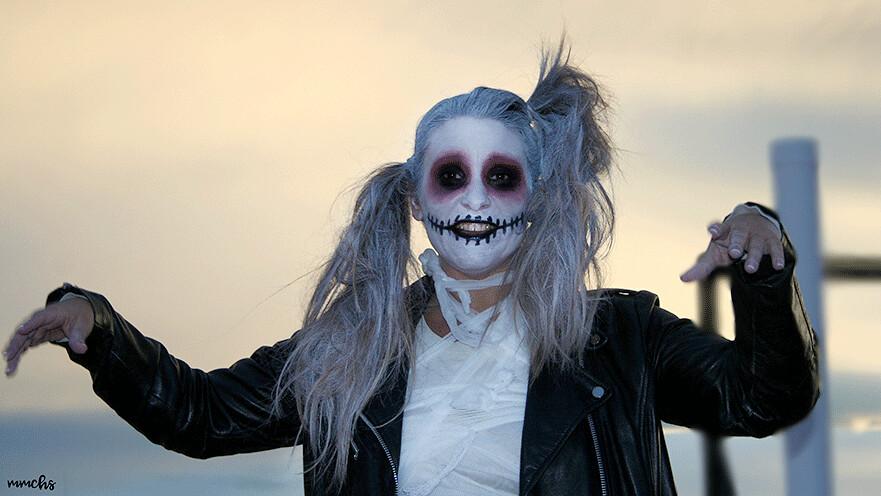 momia zombie disfraz mujer Halloween