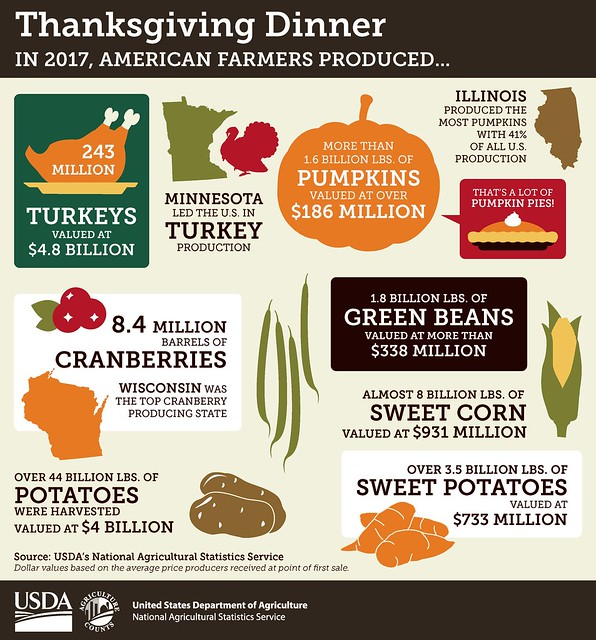 NASS Thanksgiving infographic