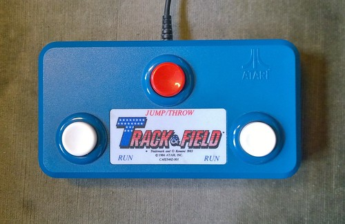 Konami Track & Field controller (Atari) | by Deep Fried Brains