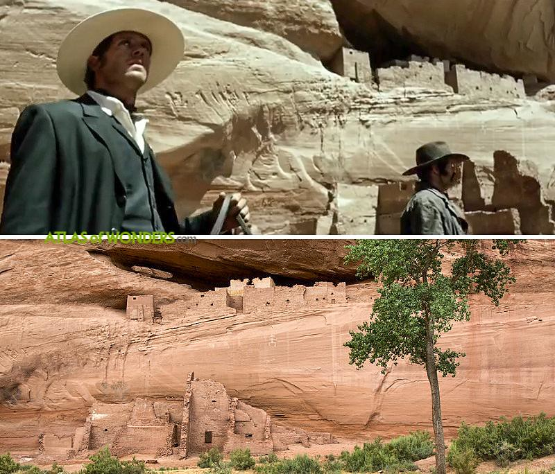Filming locations for Lone Ranger