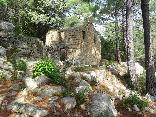 Cuchjaredda : le moulin à l'arrivée