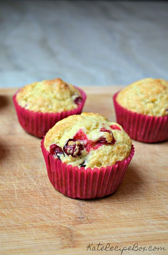 Cranberry Orange Muffins 2 | by katesrecipebox