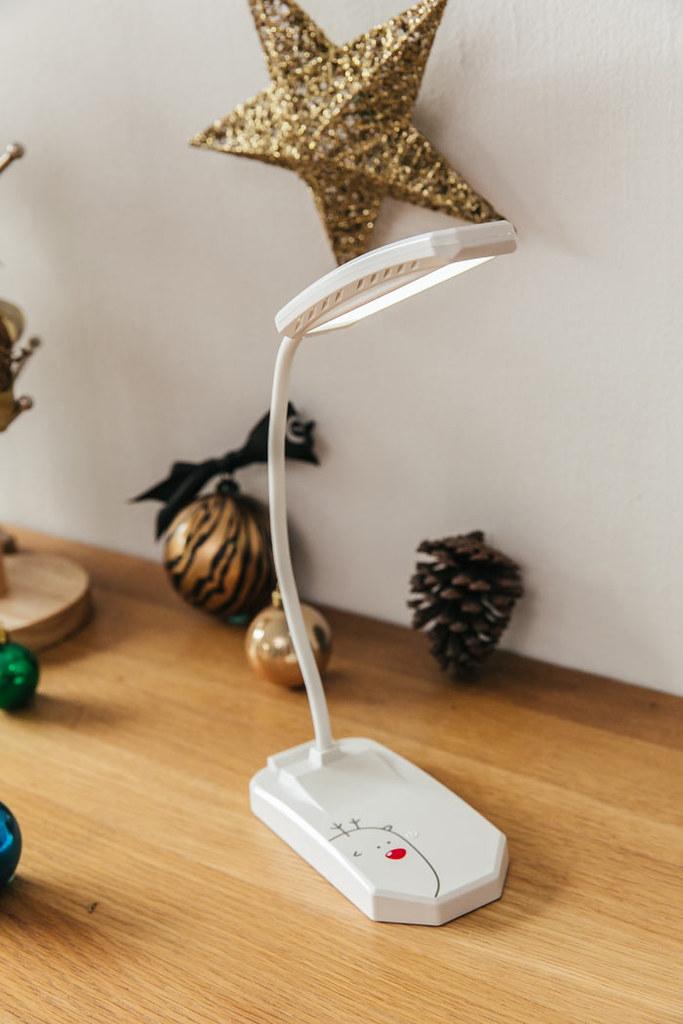聖誕節可愛麋鹿檯燈