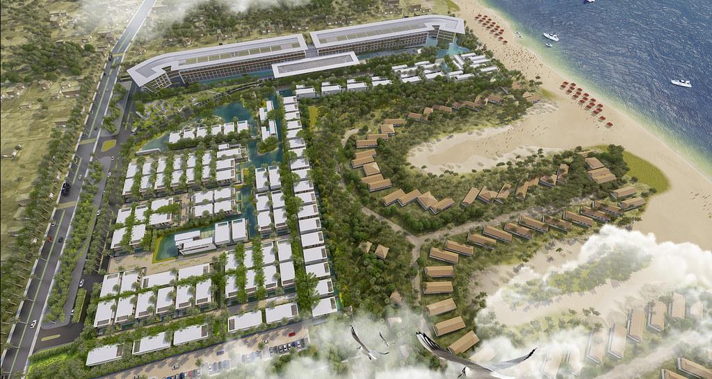 Tiện ích dự án Malibu Hội An: Hồ bơi, Gym, công viên