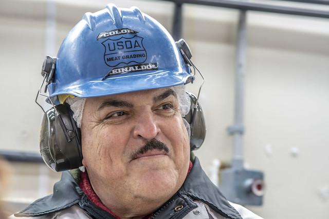 USDA Meat Grader Ray Colon