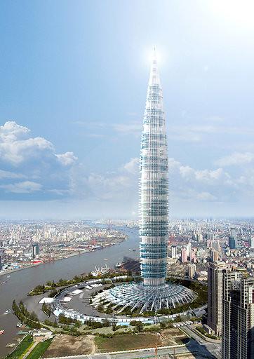 Torre Biónica en Shanghai