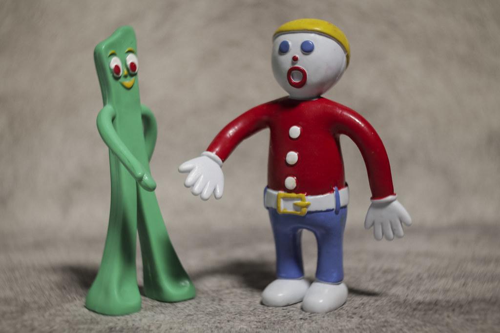 gumby and mr bill meet lensbaby burnside 35 rp brown