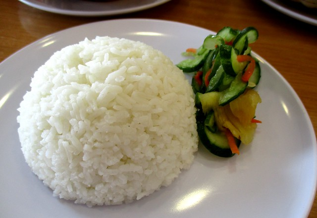 Rice & pickles