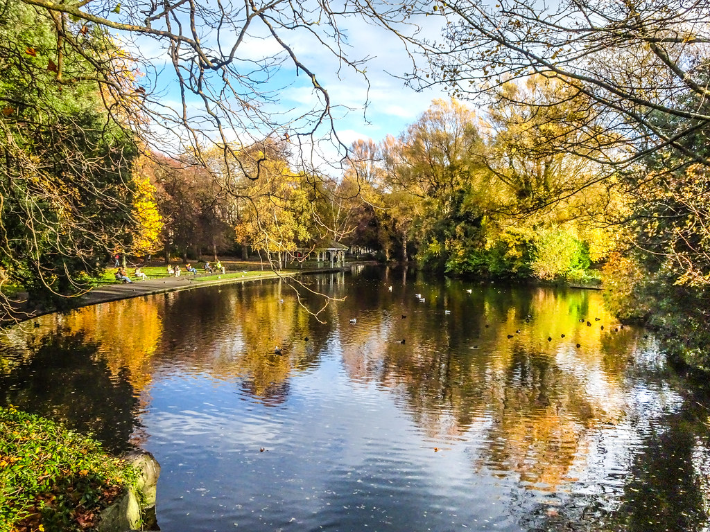 ST. STEPHEN'S GREEN IN AUTUMN 018