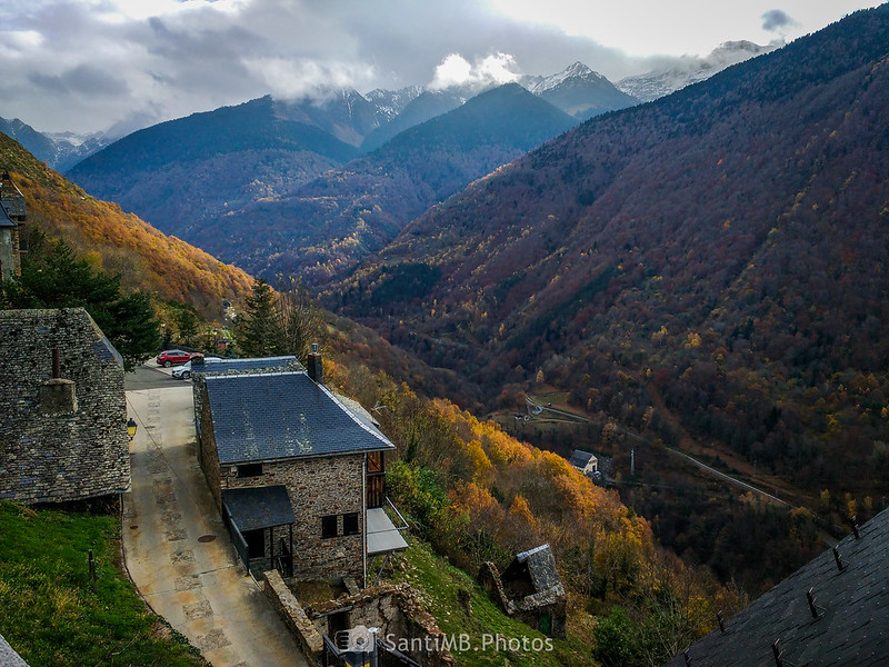 Val de Toran desde Canejan
