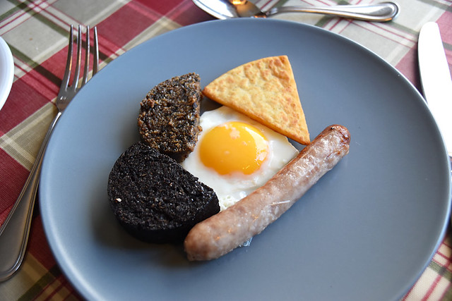 Breakfast in Scotland