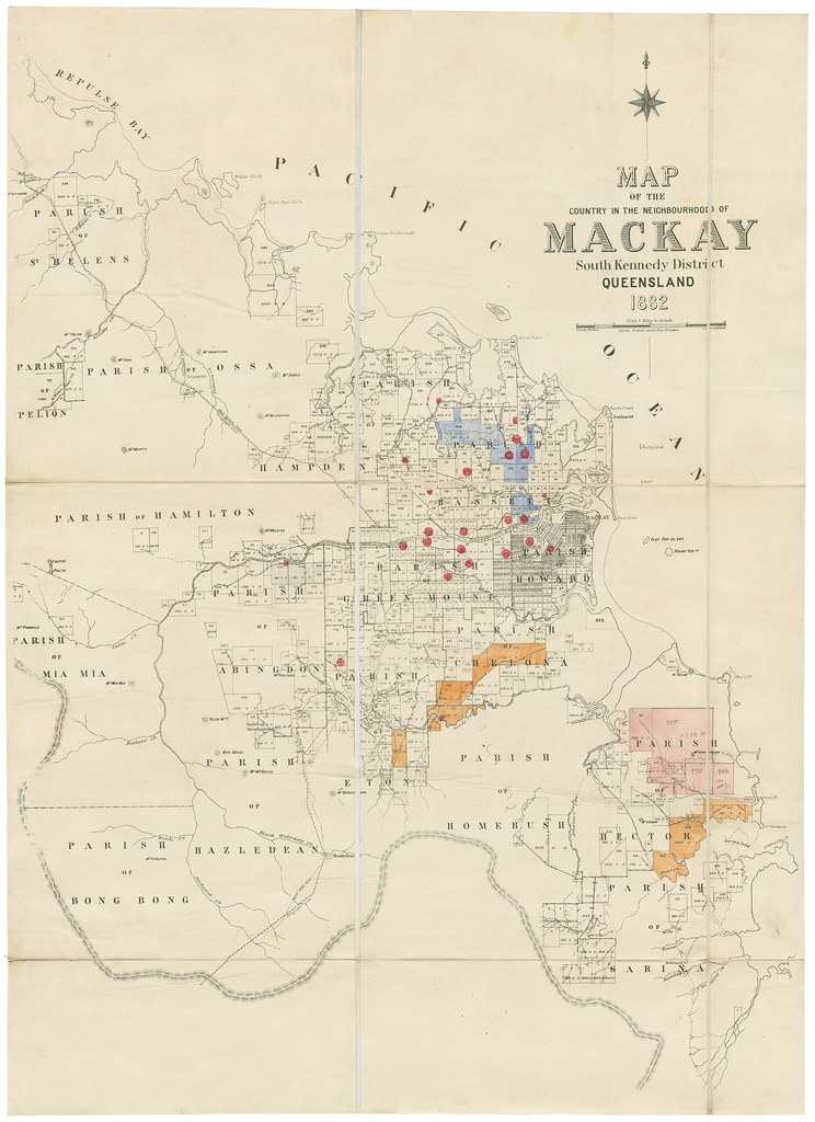 Mckay Australia Map.Map Of The Country In The Neighbourhood Of Mackay Creator Flickr