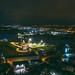 Kaunas castle at night | Aerial