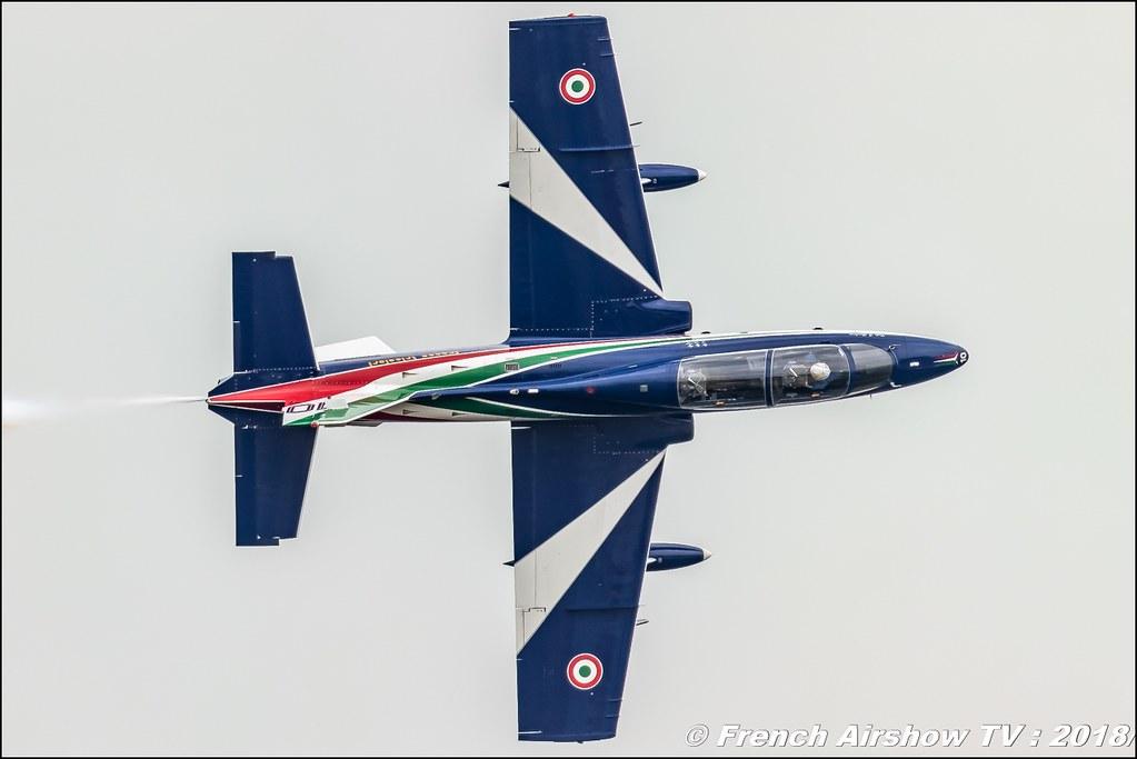 Frecce Tricolori RIAT 2018 - Royal International Air Tattoo RAF Fairford Royaume-Uni Canon Sigma France contemporary lens Meeting Aerien 2018