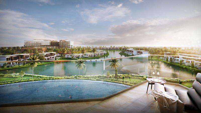 Movenpick Phú Quốc PCDA hồ bơi