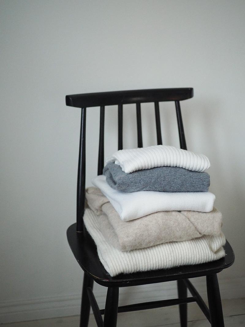 Villavaatteiden huolto ja pesu