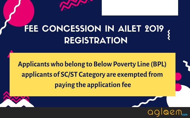 AILET 2019 Application Form - Process Over!