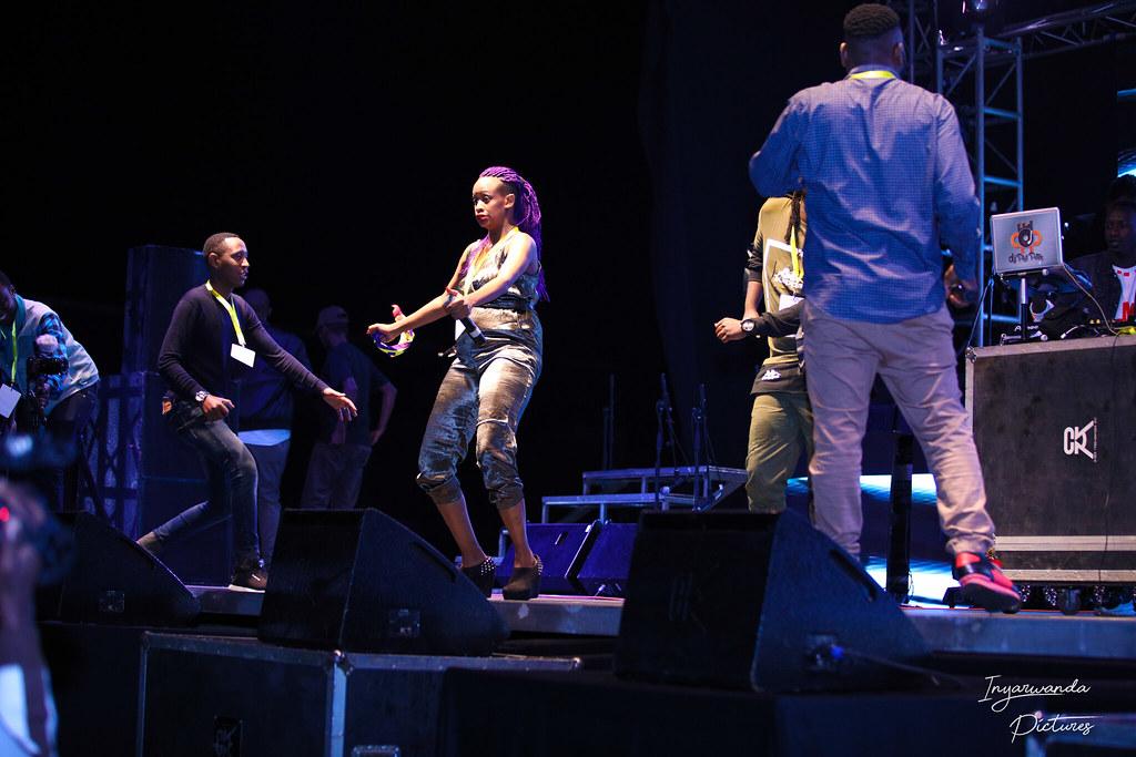 Mu gihe gito MC Slyvie yasimbujwe Anita Pendo