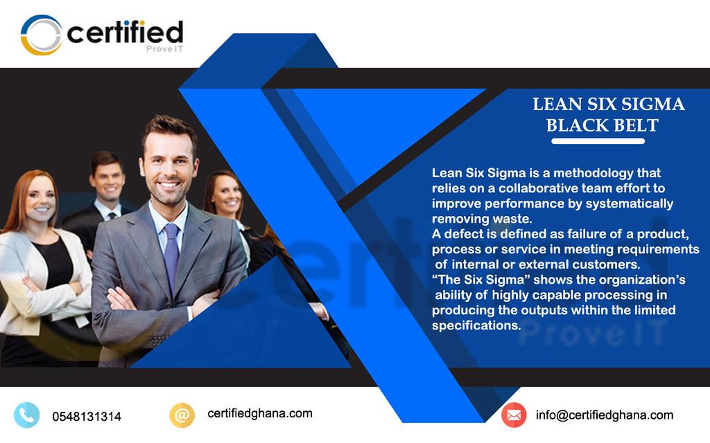 Lean Six Sigma Black Belt Certified Ghana Enroll For Cer Flickr