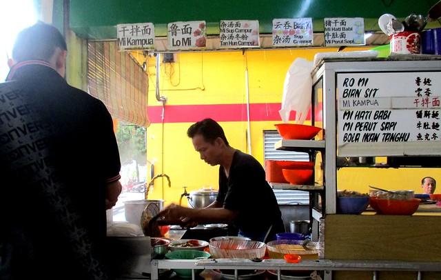 Xu Mama Cafe kampua mee stall