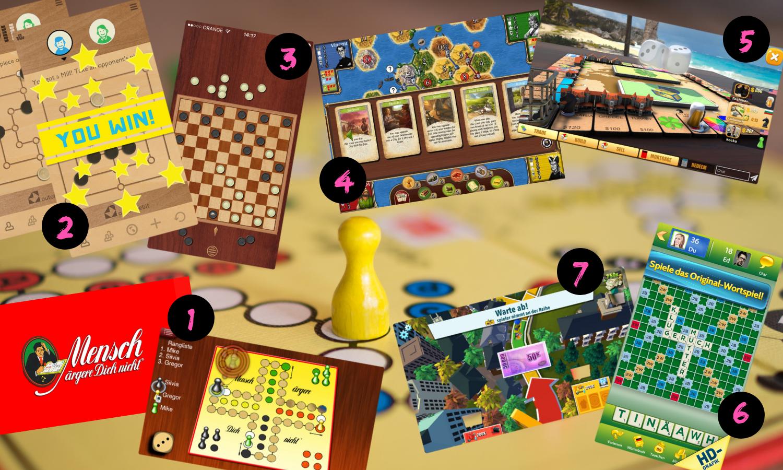Apps für Brettspiele