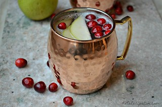 Cranberry Pear Mock Mule 4 | by katesrecipebox