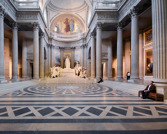 Panteón de París, uno de los lugares que ver más imprescindibles de París