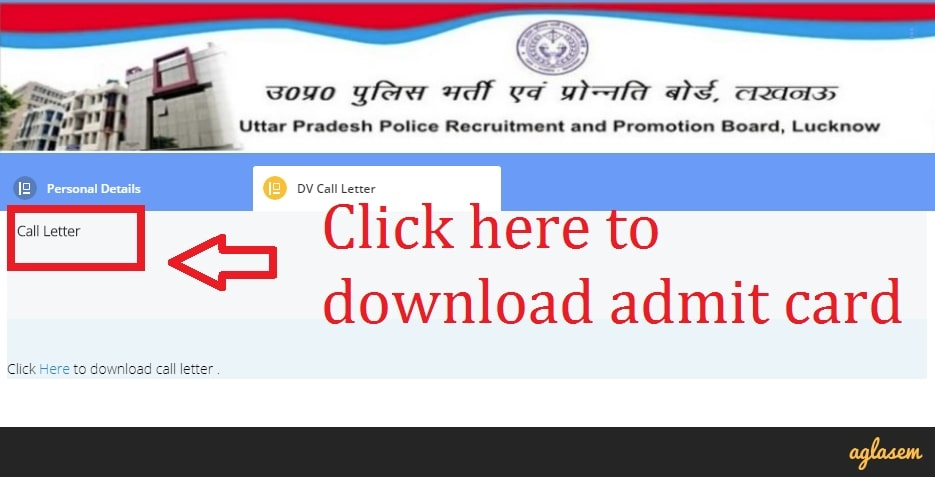 UP Police Result 2018: Click to download admit card.