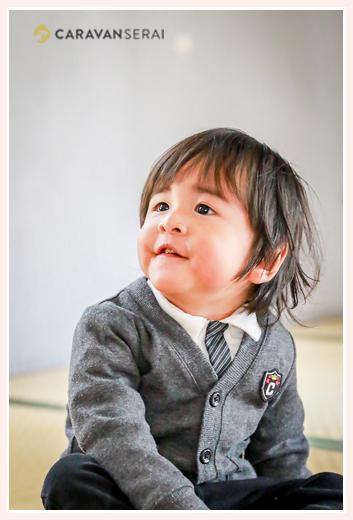 1歳の男の子
