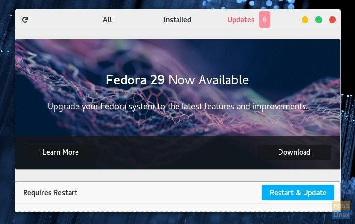Fedora-29-update-notification