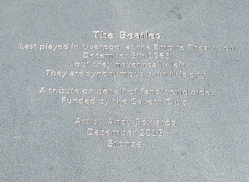 Beatles Memorial Plaque | by jackdeightonsf