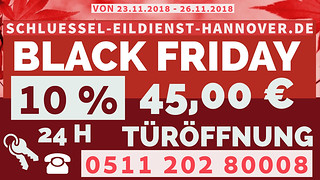 Black Friday Schlüsseldiest Hannover k | by schlsseldienst.hannover