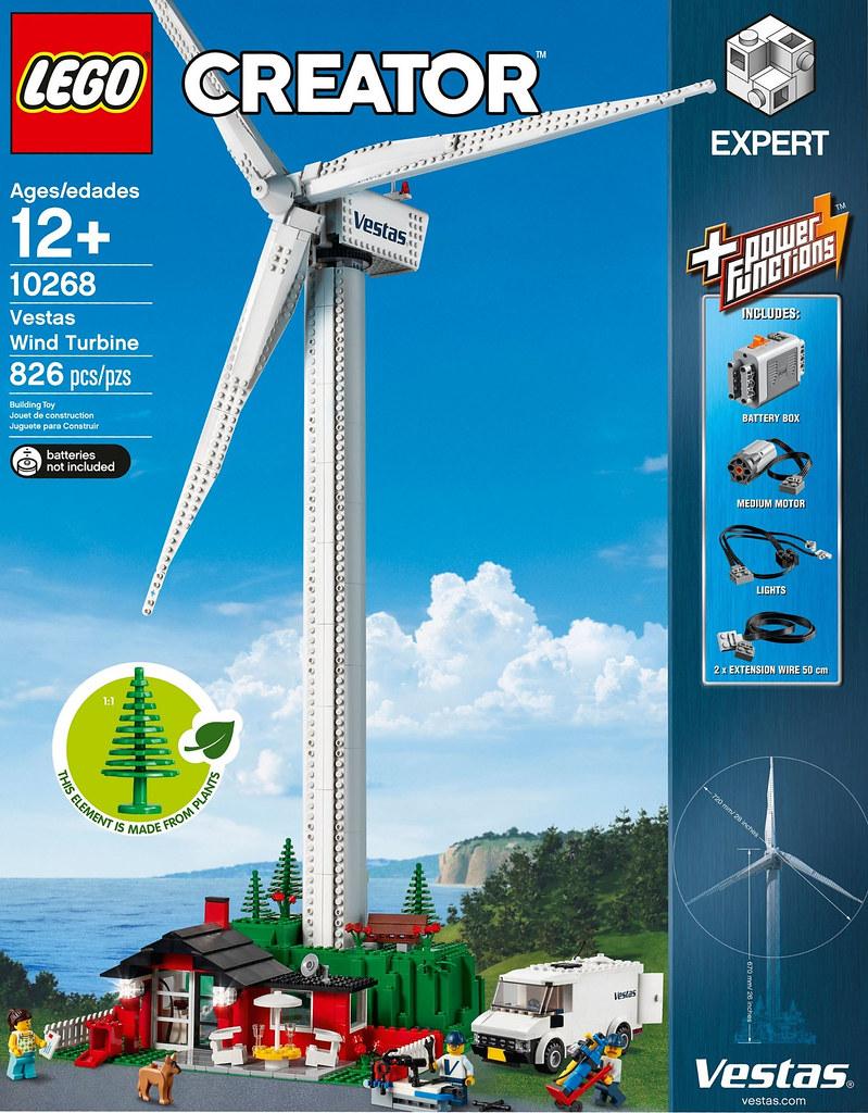 LEGO Creator Expert 10268 Vestas Wind Turbine review