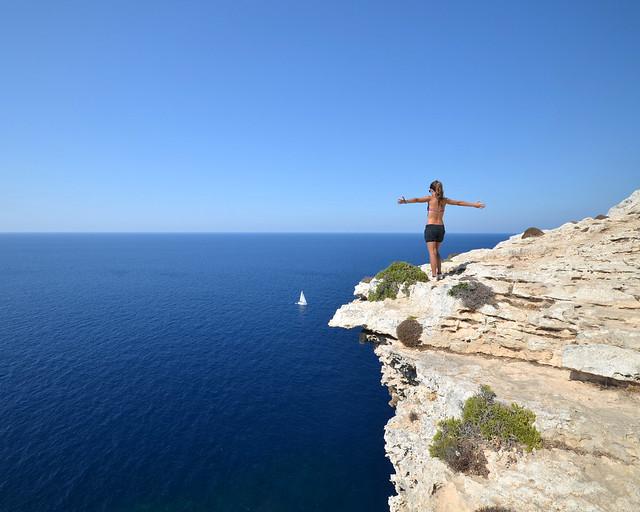 Acantilados de Menorca