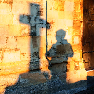 Cross and Shadow | by Ray Duffill