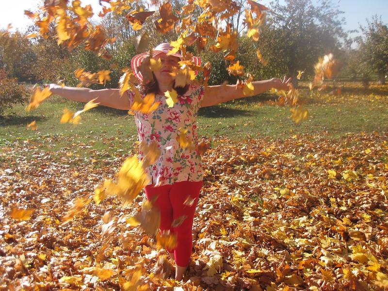Копылова (Маркина) Надежда Николаевна. Осенняя фотосессия