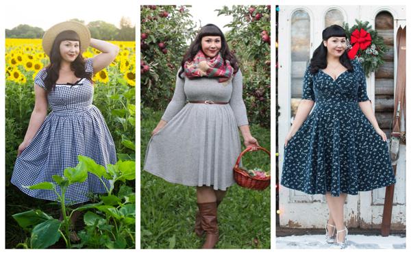 vintage fashion blogger