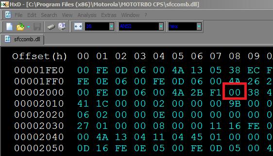 MotoTRBO CPS NA R16 0 828