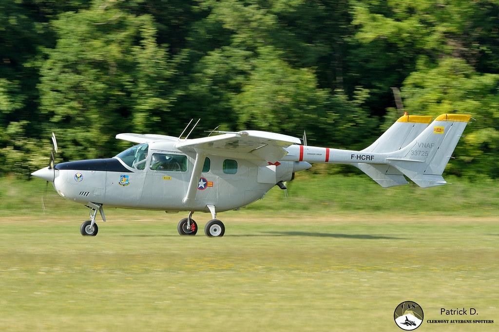 Reims Aviation Cessna F337G Super Skymaster F-HCRF Ferté … | Flickr