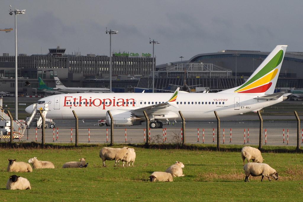 Resultado de imagen para Ethiopian Airlines Boeing 737 MAX 8 ET-AVJ