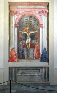 Masaccio, Holy Trinity | by profzucker