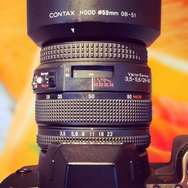 Contax N 28-80mm 的macro世界