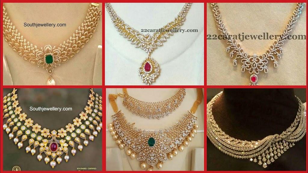 Latest Bridal Gold Necklace Set Designs Latest Bridal G Flickr