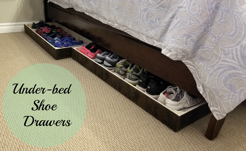 Under-bed Shoe Drawers