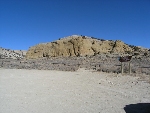 White Mountain Petroglyphs parking lot
