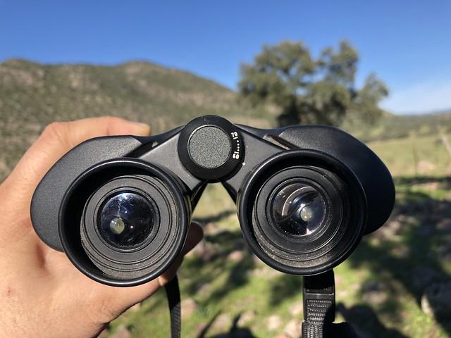 Prismáticos para ver linces en la Sierra de Andújar