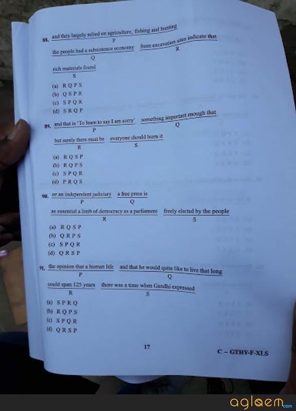 CDS English Answer Key