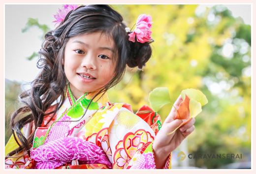 7歳女の子の七五三 挙母神社(愛知県豊田市)